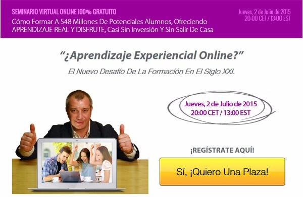 Aprendizaje Experiencial Online